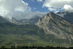 Scenic, Swiss Alps, Valais, Switzerland, Europe.