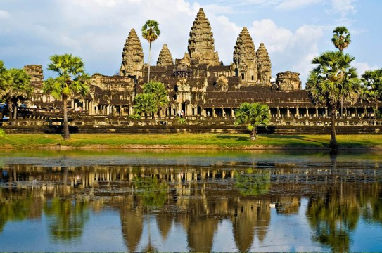 Visit this incredible Siem Reap temple, where a modern pagoda lives inside of an 11th century Buddhist shrine.