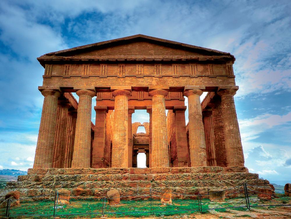 Templo de la Concordia en Agrigento