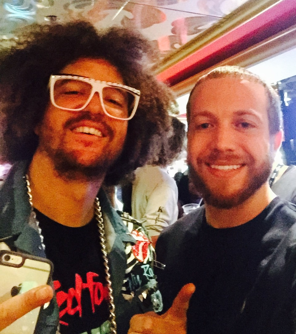 Me & Redfoo (LMFAO) in the casino.