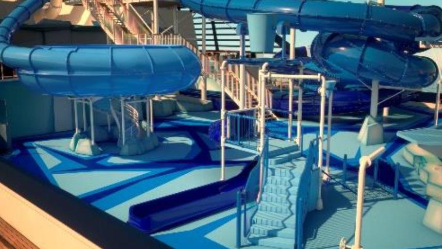MSC Meraviglia Water